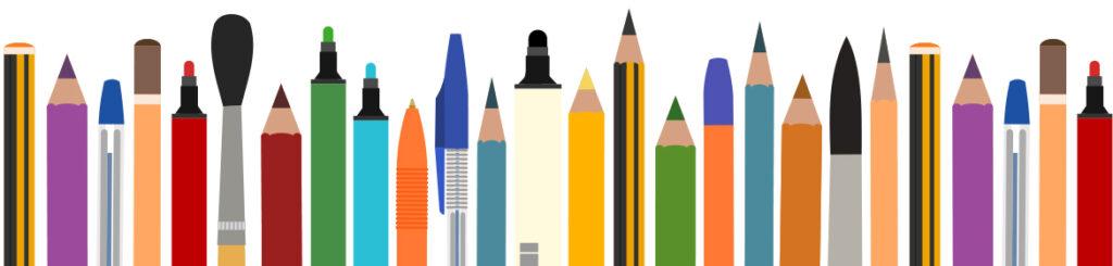 image: art pencils